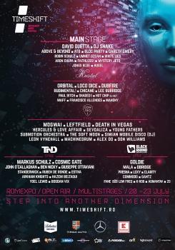 TimeShift Bucharest Dance Music Festival 2017