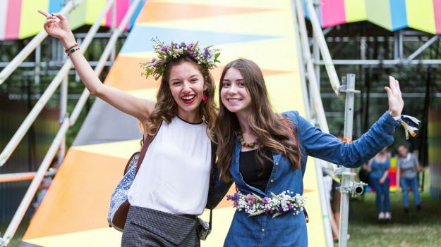 FOTO: Publicul de la festivalul Summer Well 2017