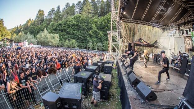 FOTO: Carcass, Solstafir, Napalm Death şi Suffocation, în a treia zi de Rockstadt Extreme Fest 2017