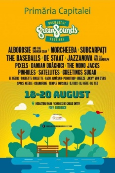 Bucharest GreenSounds Festival 2017