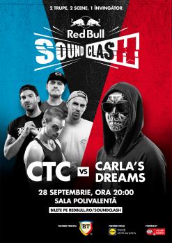 Red Bull SoundClash: CTC vs Carla's Dreams la Sala Polivalentă din Bucureşti