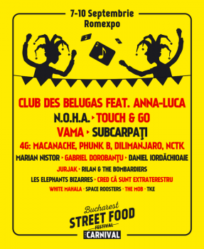 Bucharest Street Food Festival – The Carnival 2017