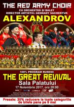 Concert The Red Army Choir – Ansamblul Alexandrov la Sala Palatului din Bucureşti