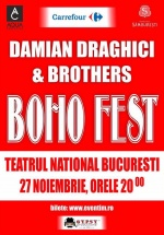 Concert Damian Draghici & Brothers – BOHO FEST la Teatrul Naţional Bucureşti
