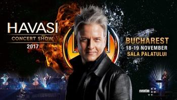 Concert HAVASI la Sala Palatului din București