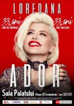 """Concert Loredana – """"Ador"""" la Sala Palatului din Bucureşti"""