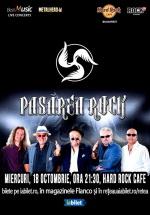 Concert Pasărea Rock la Hard Rock Cafe din Bucureşti