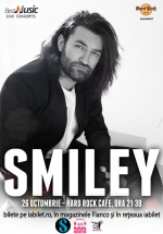 Concert Smiley la Hard Rock Cafe din Bucureşti