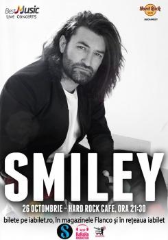 Concert Smiley la Hard Rock Cafe din Bucureşti
