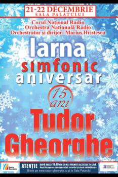 Concert Tudor Gheorghe – Iarna Simfonic Aniversar la Sala Palatului din Bucureşti