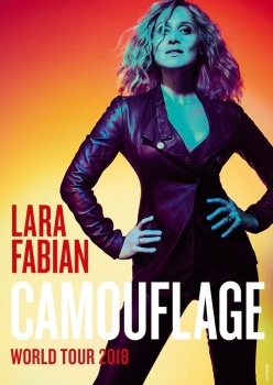 """Concerte Lara Fabian – """"Camouflage"""", la Cluj-Napoca şi Bucureşti"""
