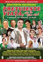 """Concert Constantin Măgureanu – """"Preţuieşte viaţa, cât te ţine aţa"""" la Sala Palatului din Bucureşti"""