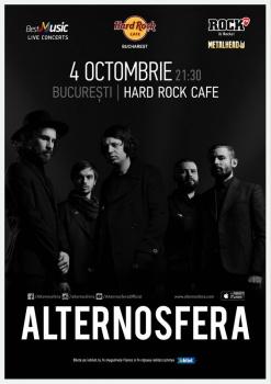 Concert Alternosfera la Hard Rock Cafe din Bucureşti