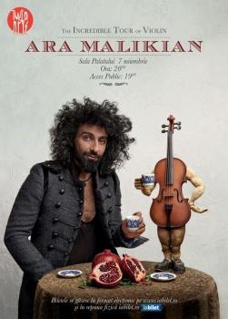 Concert Ara Malikian la Sala Palatului din Bucureşti
