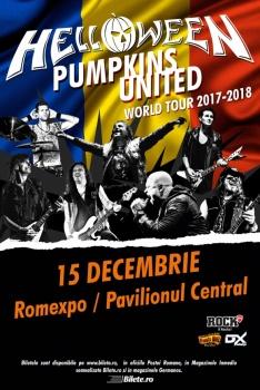Concert Helloween la Romexpo din Bucureşti