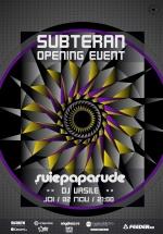 Concert Şuie Paparude în Club Subteran din Bucureşti (CONCURS)