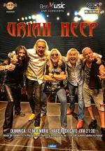 Concert Uriah Heep la Hard Rock Cafe din Bucureşti