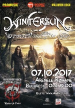 Concert Wintersun la Arenele Romane din Bucureşti
