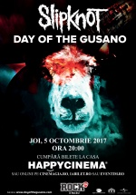 Concert Slipknot – The Day of The Gusano la Happy Cinema din Bucureşti
