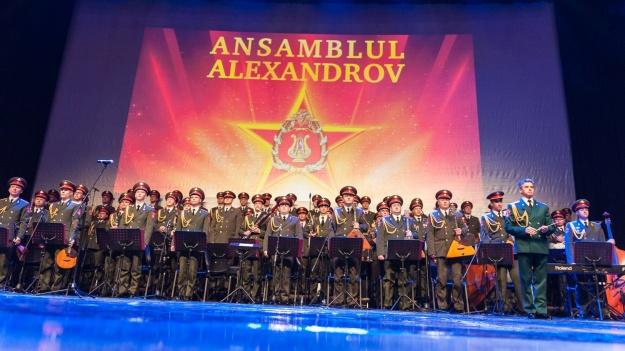 FOTO: The Red Army Choir – Ansamblul Alexandrov la Sala Palatului din Bucureşti