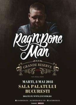 Concert Rag'n'Bone Man la Sala Palatului din Bucureşti – ANULAT