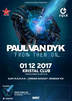 Paul van Dyk în Kristal Club din Bucureşti