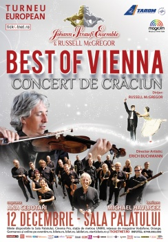 "Johann Strauss Ensemble – turneu naţional ""Best of Vienna"" 2017"