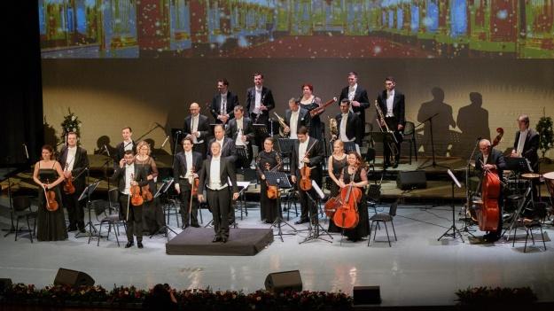 FOTO: Schoenbrunn Palace Orchestra Vienna la Sala Palatului din Bucureşti