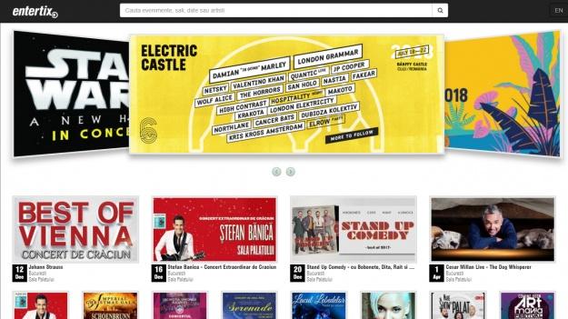 S-a lansat Entertix, cea mai nouă reţea de ticketing din România