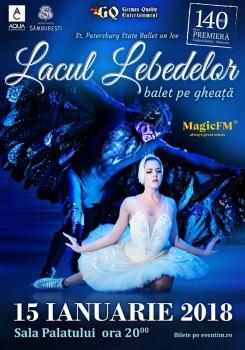 Lacul Lebedelor – Balet pe Gheaţă la Sala Palatului din Bucureşti