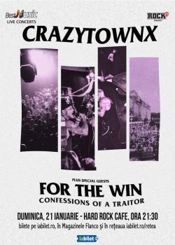 Concert Crazy Town la Hard Rock Cafe din Bucureşti
