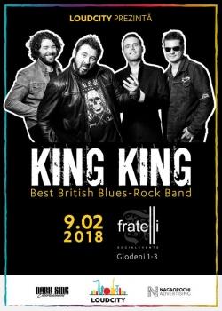 Concert King King în Fratelli Studios din Bucureşti