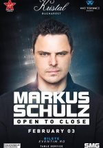 "Markus Schulz – ""Open to Close"" la Kristal Club din Bucureşti"