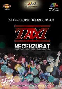 Concert Taxi la Hard Rock Cafe din Bucureşti