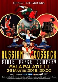 Cazacii Rusiei – Russian Cossack State Dance Company la Sala Palatului din Bucureşti