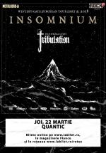 Concert Insomnium în Club Quantic din Bucureşti