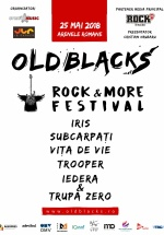 Old Blacks, Rock & More Festival 2018 la Arenele Romane din Bucureşti