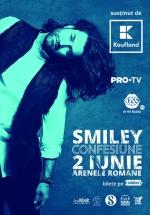 """Concert Smiley – """"Confesiune"""" la Arenele Romane din Bucureşti"""