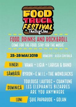 Food Truck Festival – The Big One 2018 la Romexpo din Bucureşti