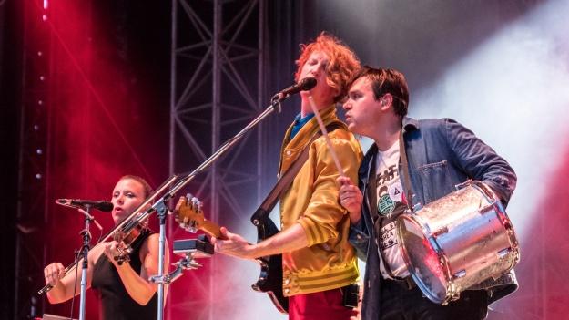 FOTO: Arcade Fire la Romexpo din Bucureşti