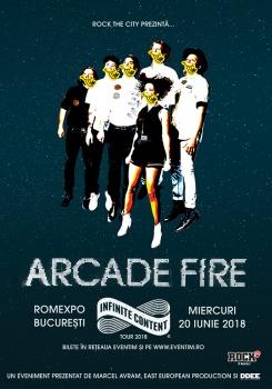 Concert Arcade Fire la Romexpo din Bucureşti