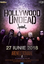 Concert Hollywood Undead la Arenele Romane din Bucureşti