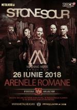 Concert Stone Sour la Arenele Romane din Bucureşti
