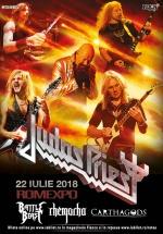Concert Judas Priest la Romexpo din Bucureşti (CONCURS)