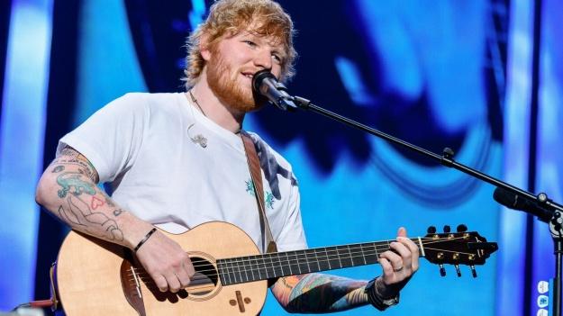 FOTO: Ed Sheeran la Ernst Happel Stadion din Viena
