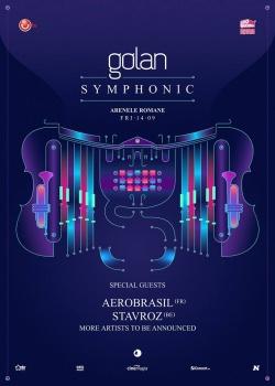 """Concert Golan – """"Golan Symphonic"""" la Arenele Romane din Bucureşti"""