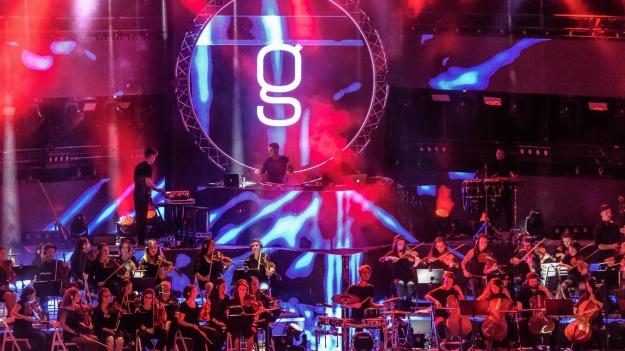 FOTO: Golan Symphonic 2018 la Arenele Romane din Bucureşti