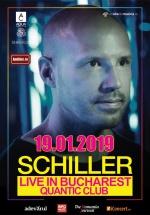 Concert Schiller – Klangwelten la Club Quantic din Bucureşti – ANULAT