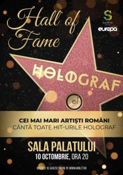 Concert Holograf – Hall of Fame la Sala Palatului din Bucureşti – ANULAT