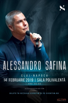 Concert Alessandro Safina la BT Arena din Cluj-Napoca